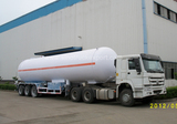 2018 Brand New Wanhua 3axles 42m3 LPG Gas Semi Tanker Trailer 40T for Sale