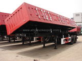 side tipper semi-trailer