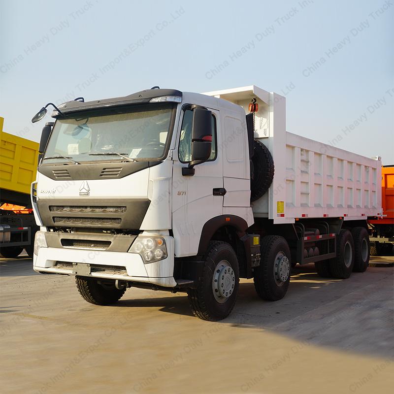 CNHTC Trucks HOWO A7 12 Wheeler Big Dump Truck for Sale Philippines