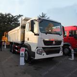 ZZ3257N364M HOWO T7H 400 Horse Power MAN Engine 20 Cubic Yard Heavy Duty Dump Truck