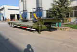 2 Axles 25-30 Ton Lowboy Trailer Heavy Haul Trailers for Sale