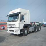 SINOTRUK CNHTC HOWO 6X4 Reinforced Frame 420 horse power Semi Truck Head Sale in Ghana