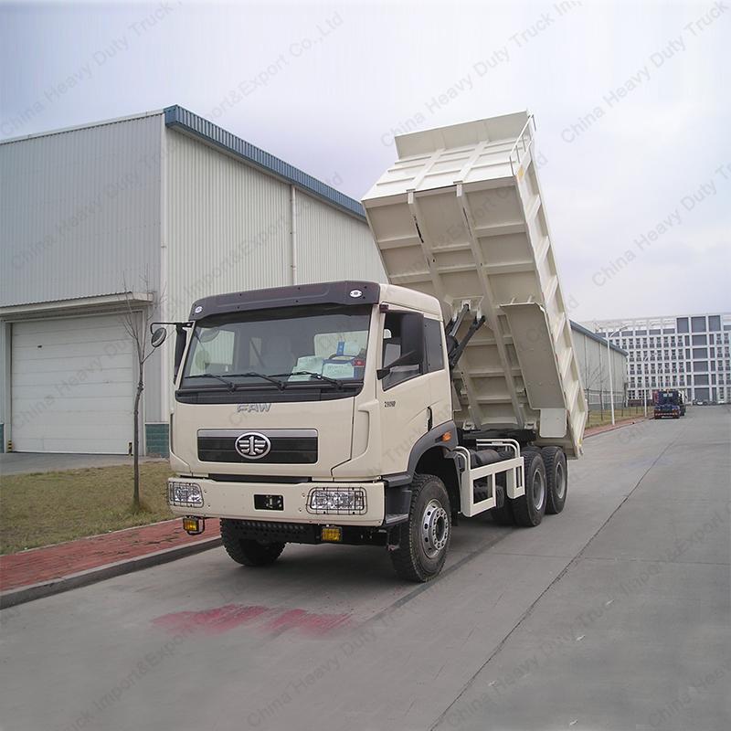 CA3256 FAW New J5P 340HP LHD 30 Tons Loading Capacity Rear Dump Truck