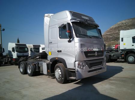 中国重汽 SINOTRUK HOWO-T7H 6X4 双卧铺 牵引车