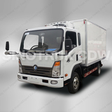 China CDW 6 Tons Refrigerated Vans Small Freezer Trucks for Sale