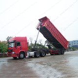 SINO Truck HOWO 371hp 60 Tons 18 Wheeler Truck and Trailer