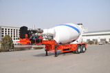 concrete mixer trailer