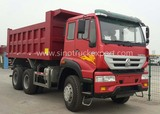 Low Curb Weight Sino Truck 6 x 4 Golden Prince SWZ10 6m Tipper Truck Capacity 18 Ton for Sale