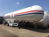 LPG(Liquefied Petroleum Gas)tank semi-trailer